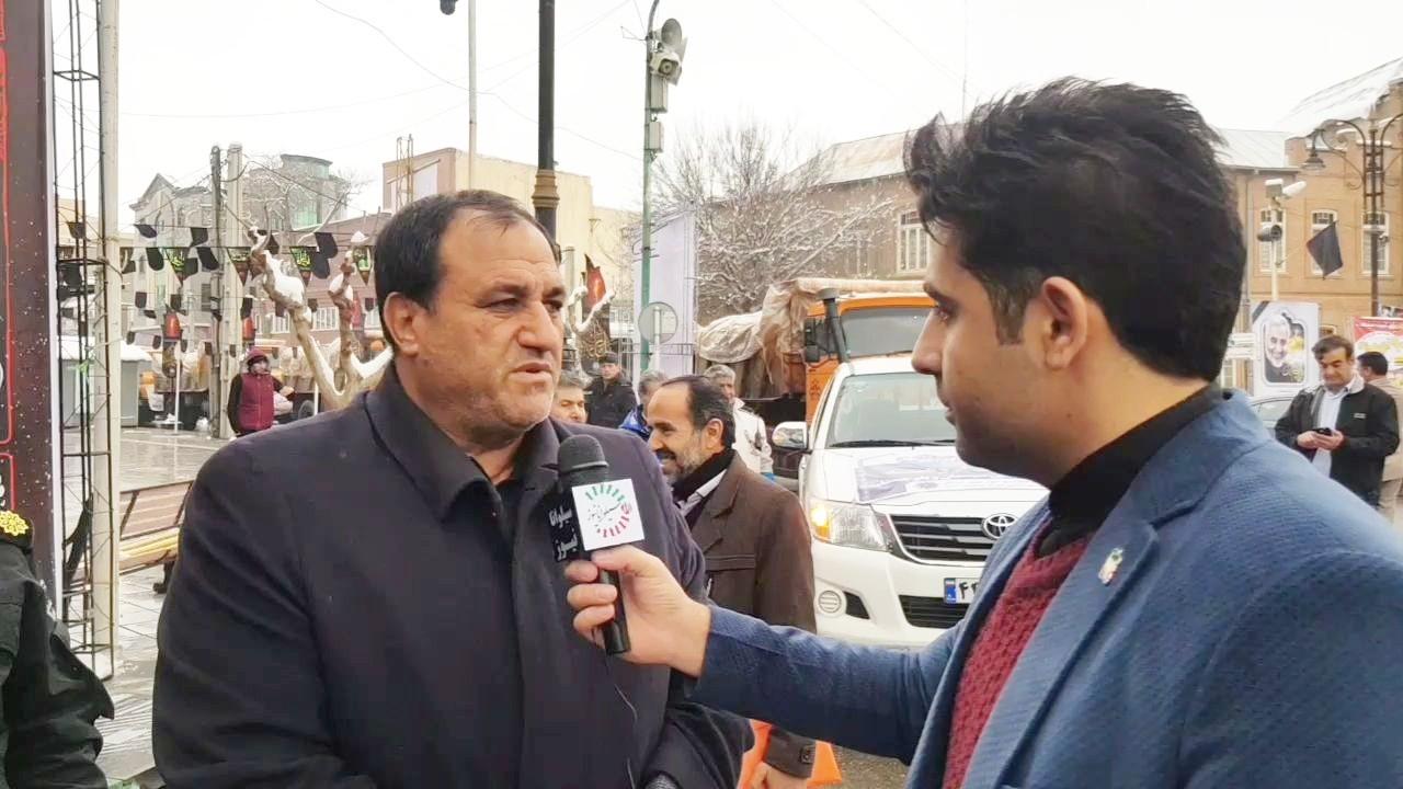 کمک های مردمی ارومیه به سیستان و بلوچستان