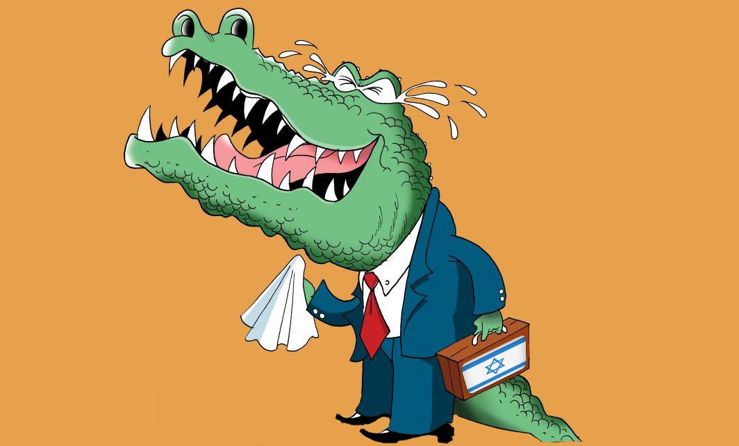 اشک تمساح میریزند باور نکنید