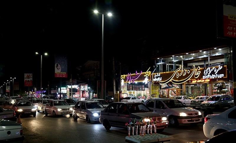ترافیک جاده بند ارومیه