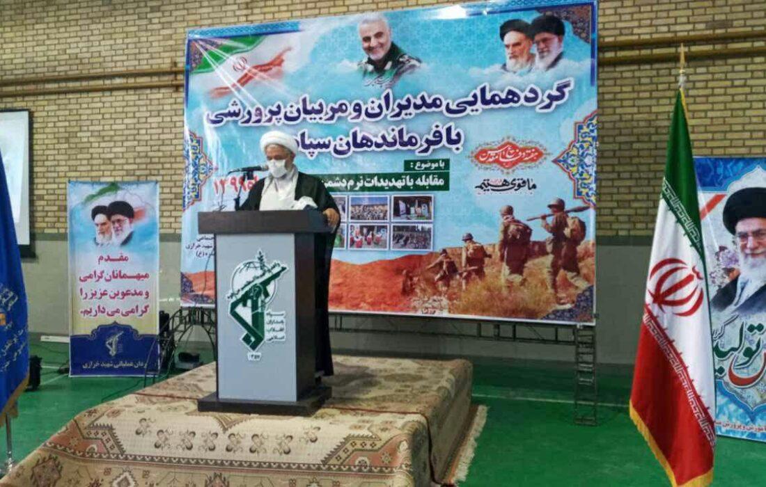 مراسم گرامیداشت هفته دفاع مقدس در دبیرستان حجاب زیوە مرگور