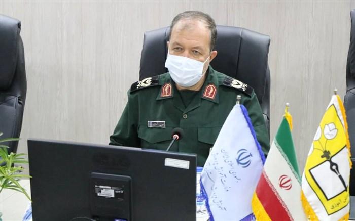 فرمانده سپاه شهدا:  دفاع مقدس مرتفع ترین قله انقلاب اسلامی است
