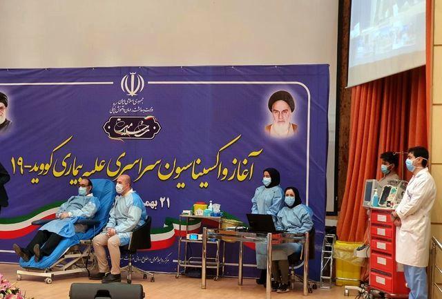 سوال جالب روحانی از پسر وزیر بهداشت: پیشنهاد خودت بود واکسن بزنی یا پیشنهاد پدر بود؟