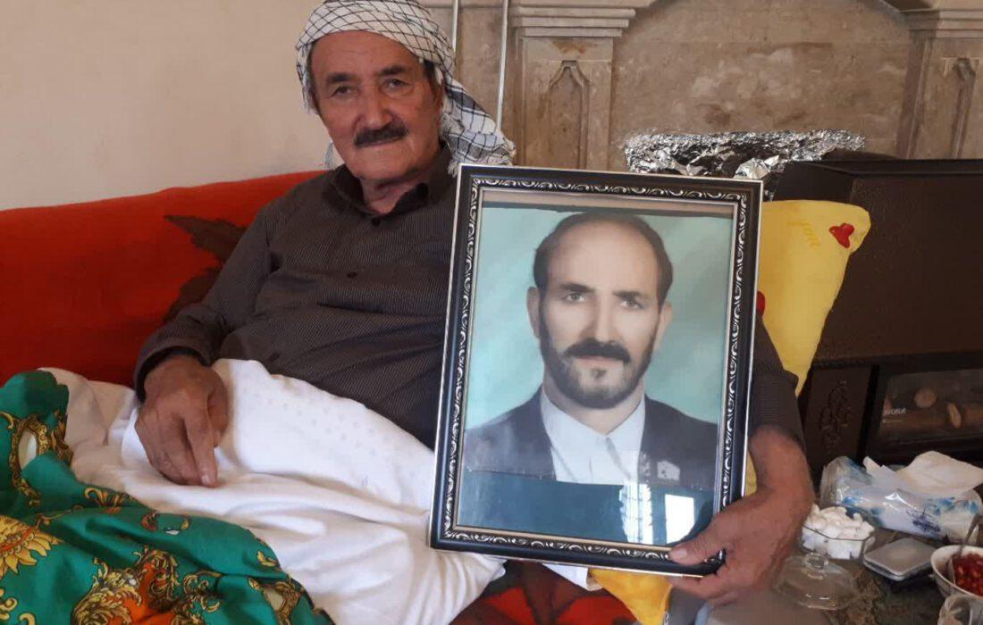 شهید زنده دار فانی را وداع گفت