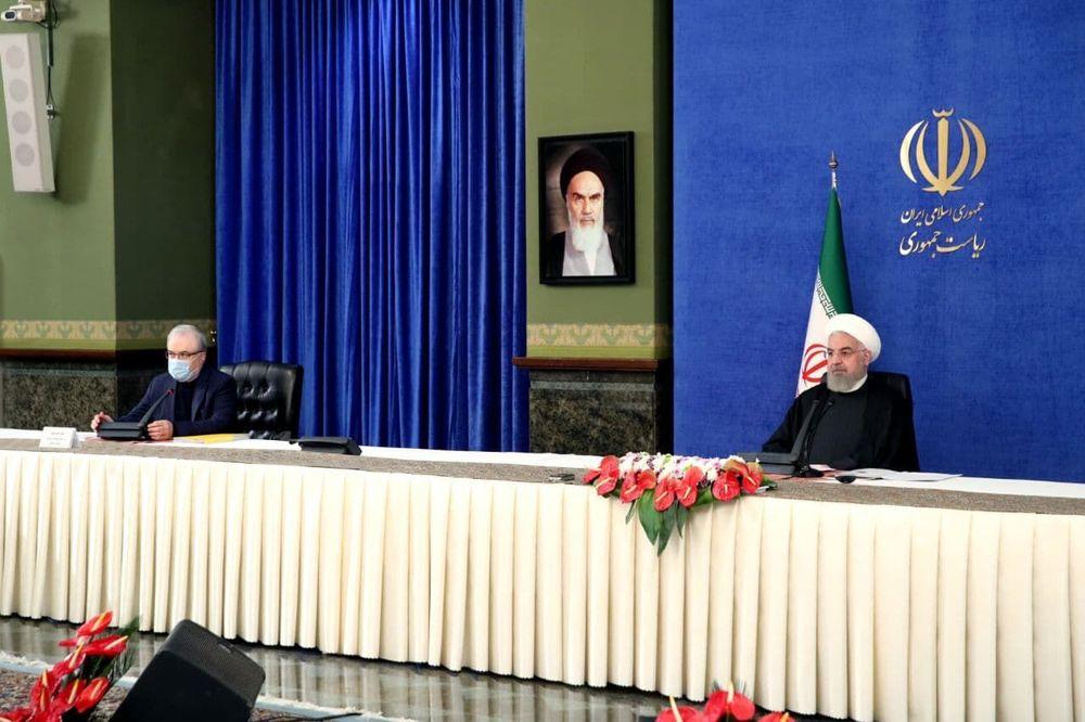 روحانی:همه توان دولت بر خرید واکسن متمرکز است/ مراقبت از مرزها باید افزایش یابد/ شاید محدودیتها کل سال آینده هم اعمال شود