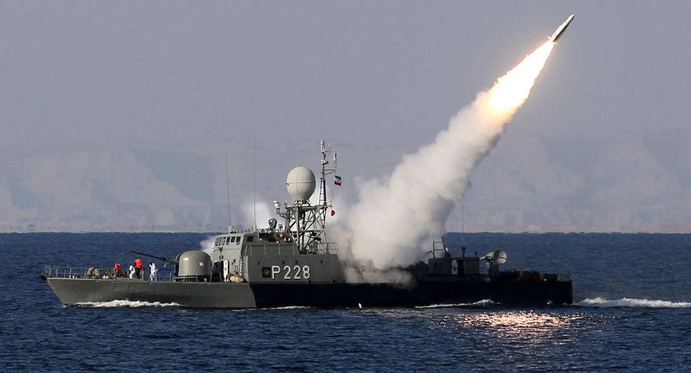 تبادل آتش توپخانه ای در رزمایش دریایی ایران و روسیه
