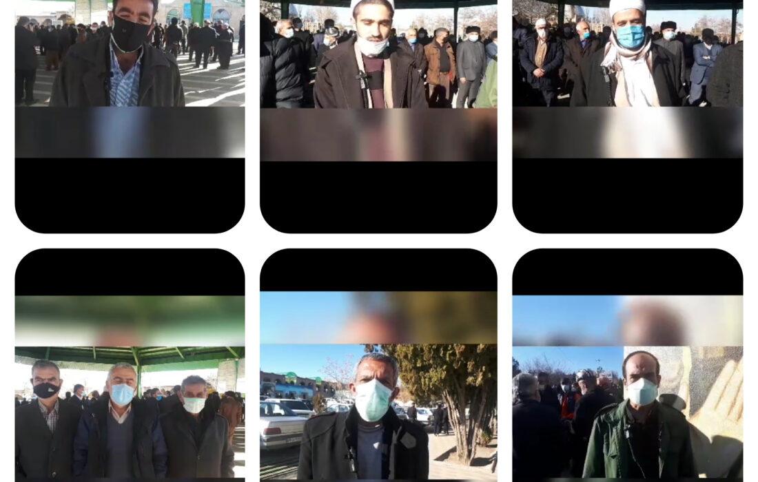 نظرات مردم در خصوص شخصیت شهید حاج مصطفی سلطانی