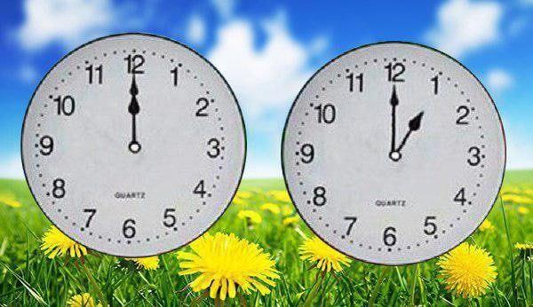 ساعت رسمی کشور یک ساعت به جلو کشیده میشود