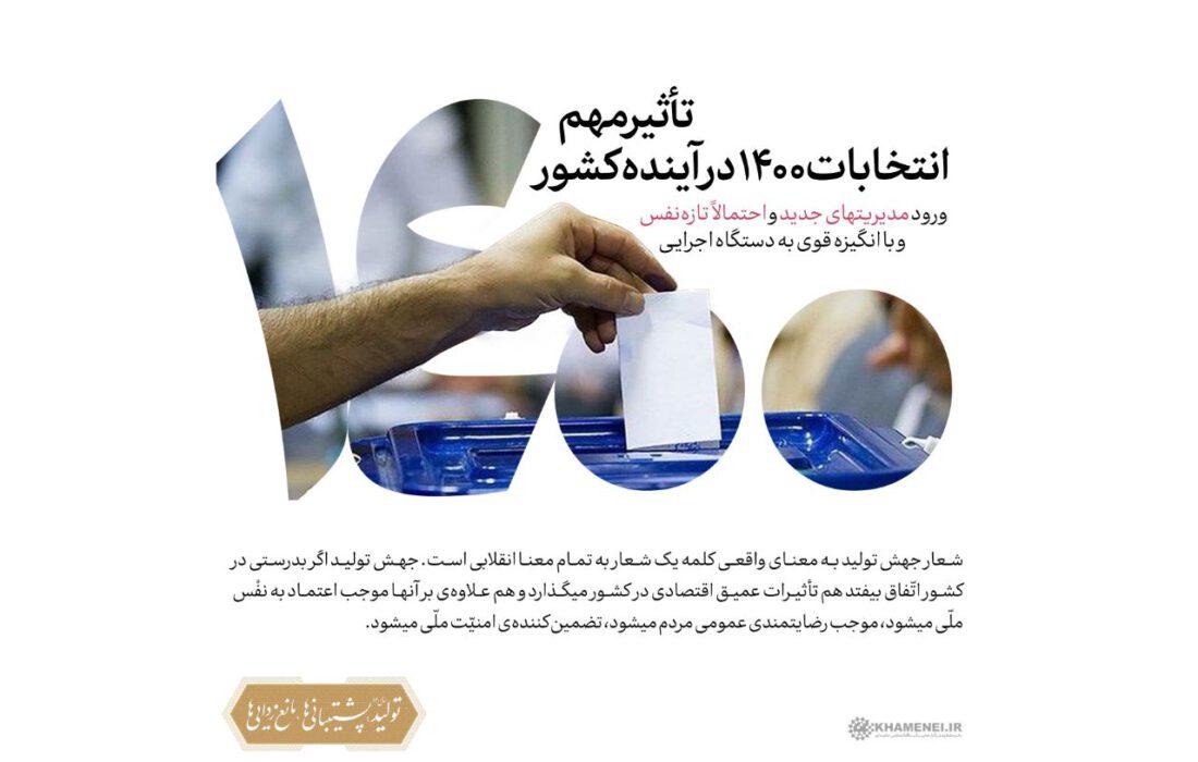 ?طرح   تاثیر مهم انتخابات ۱۴۰۰ در آینده کشور