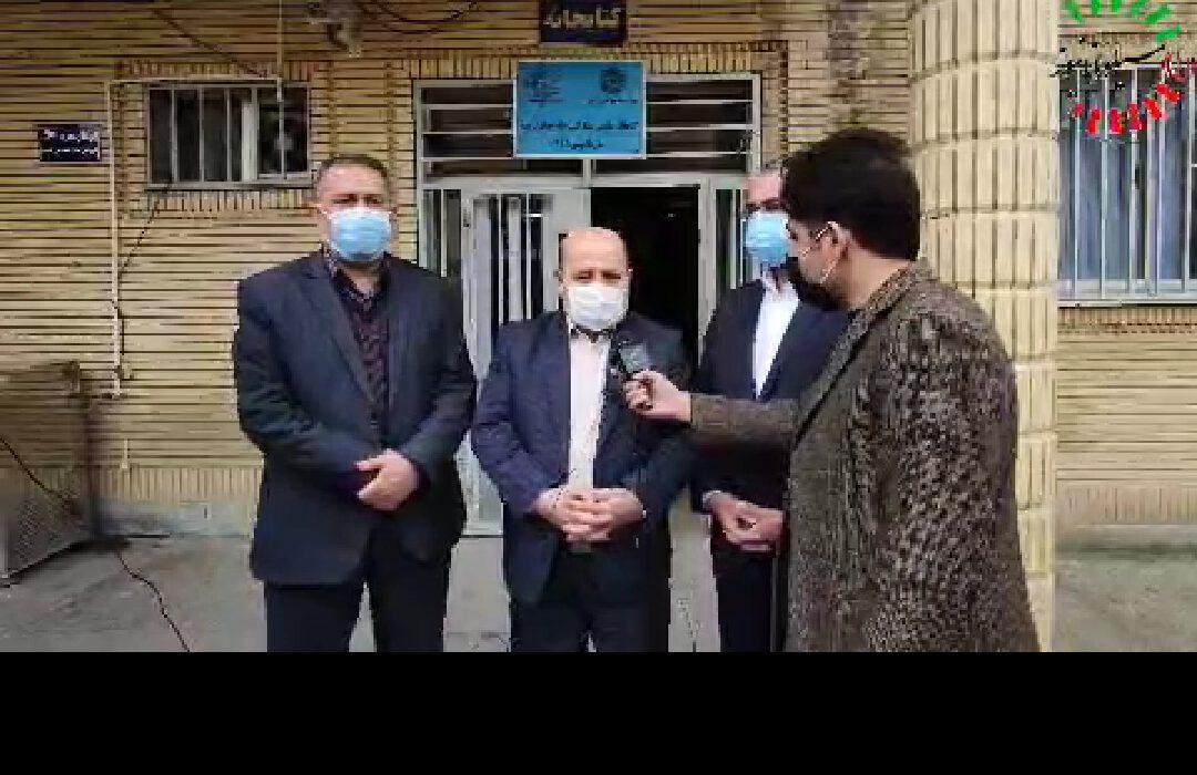 مصاحبه اختصاصی سیلوانا نیوز با علی مصطفوی رئیس ستاد انتخابات آذربایجان غربی در خصوص روند ثبت نام انتخابات و تعداد دواطلبان و امکان تمدید زمان ثبتنام