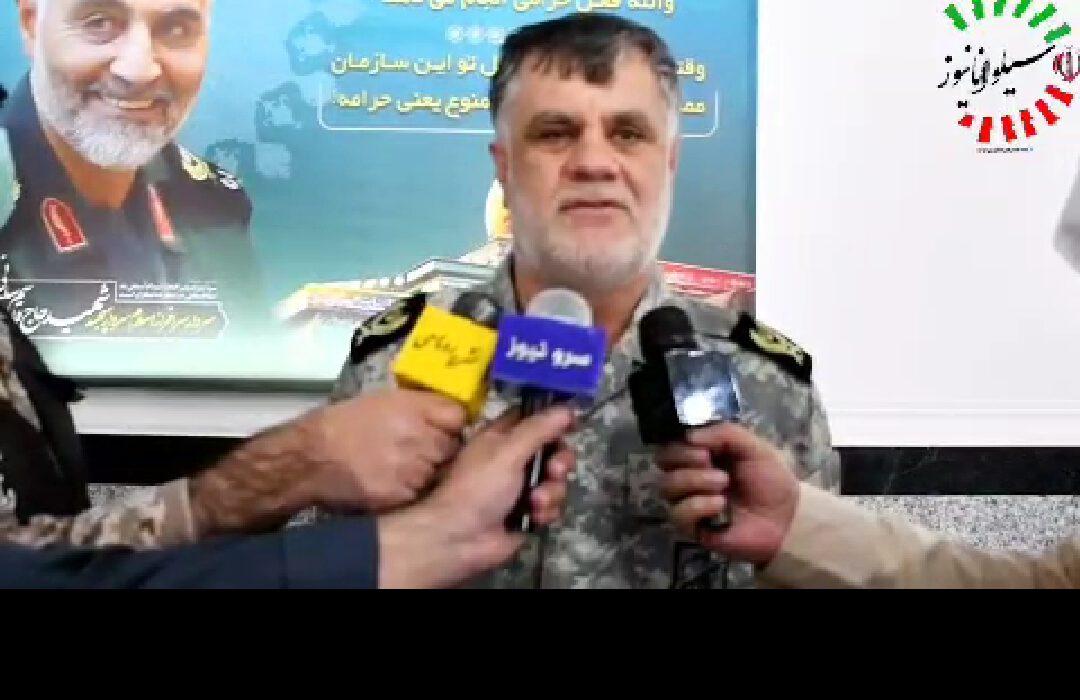 مصاحبه اختصاصی سیلوانا نیوز با سردار آبروشن فرمانده لشکر عملیاتی ۳ حمزه (ع)