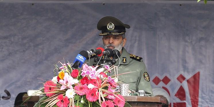 فرمانده کل ارتش: قدرت نیروهای مسلح اهرم راهبردی در دیپلماسی است
