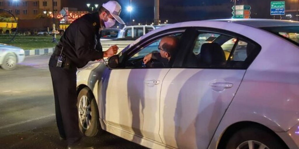 شیوه نامه پلیس راهنمایی و رانندگی آذربایجان غربی برای رسیدگی به جریمه ای محدودیت کرونایی