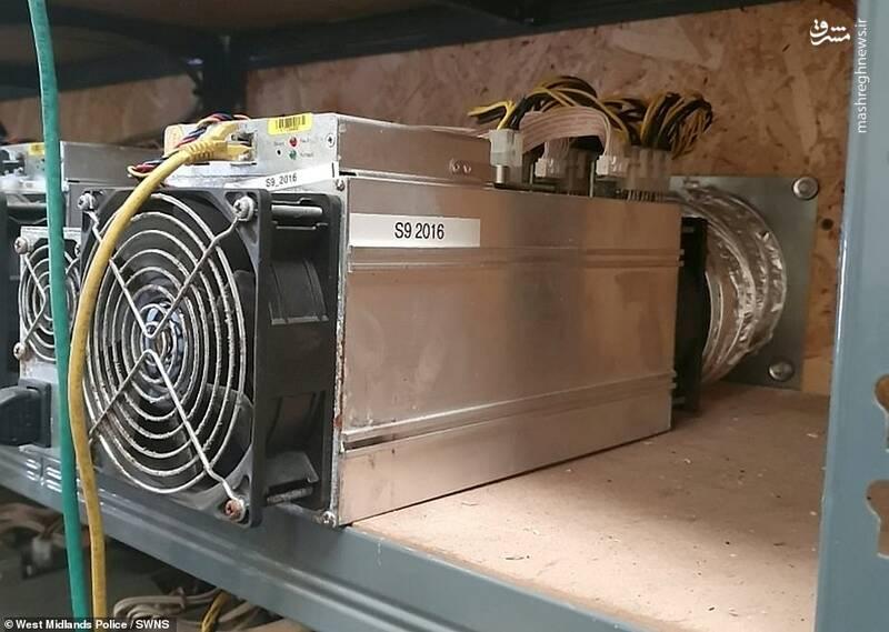 عکس/ کشف بزرگترین کارگاه غیرقانونی استخراج بیت کوین