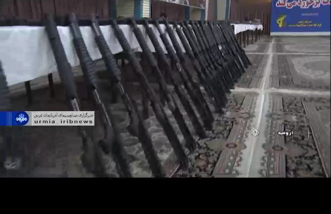 کشف و انهدام محموله سلاح و مهمات گروهک های ضد انقلاب در شمالغرب کشور