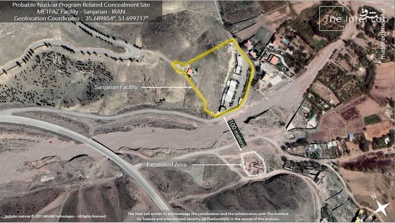گاف عجیب ماهوارههای جاسوسی اسرائیل در مورد سایت هستهای سنجریان +عکس
