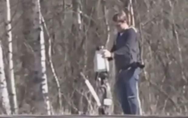 ویدئو   دزدی کارمند سفارت آمریکا در روسیه از ایستگاه قطار