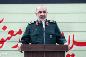 سرلشکر سلامی: پاسخ ایران به تهدیدات دشمنان ویرانگر و پشیمانکننده است